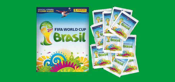 Stickere Panini World Cup 2014